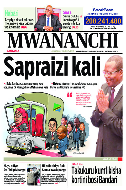 SAPRAIZI KALI  | Mwananchi