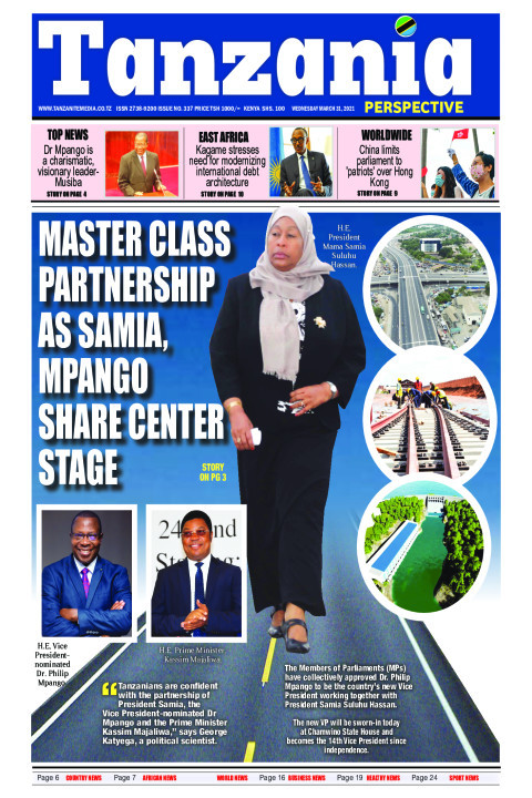 Master class partnership as Samia, Mpango share center stage | Tanzania Perspective