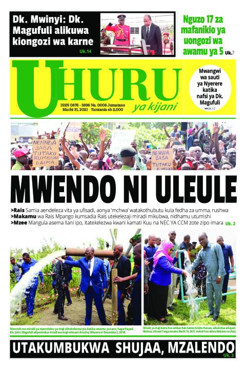 Mwendo ni uleule | Uhuru la Kijani