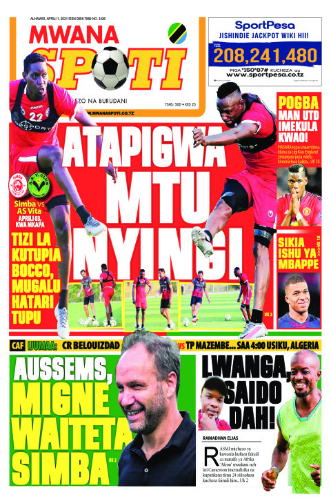 ATAPIGWA MTU NYINGI,AUSSEMS MIGNE WAITETA SIMBA  | Mwanaspoti
