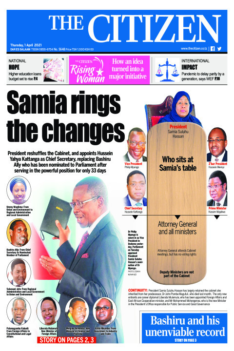 SAMIA RINGS THE CHANGES