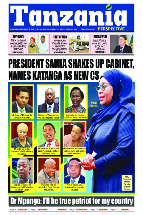 PRESIDENT SAMIA SHAKES UP CABINET,