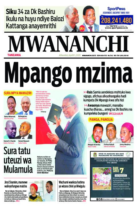 MPANGO MZIMA  | Mwananchi