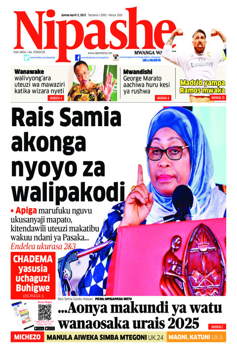 Rais Samia akonga nyoyo za walipakodi  | Nipashe