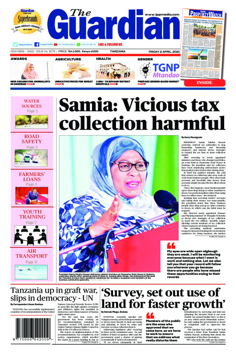 Samia: Vicious tax collection harmful | The Guardian