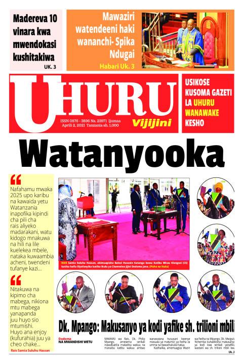 Watanyooka | Uhuru
