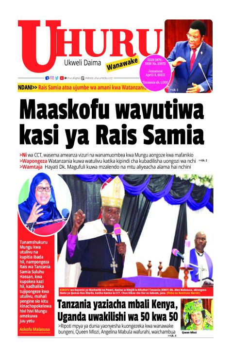 Maaskofu wavutiwa kasi ya Rais Samia | Uhuru