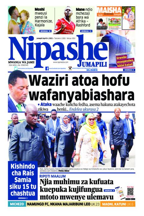 Waziri atoa hofu wafanyabiashara | Nipashe
