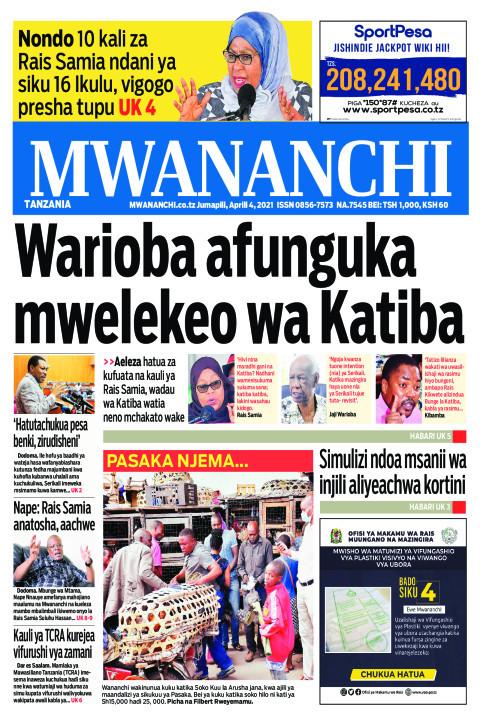 WARIOBA AFUNGUKA MWELEKEO WA KATIBA | Mwananchi