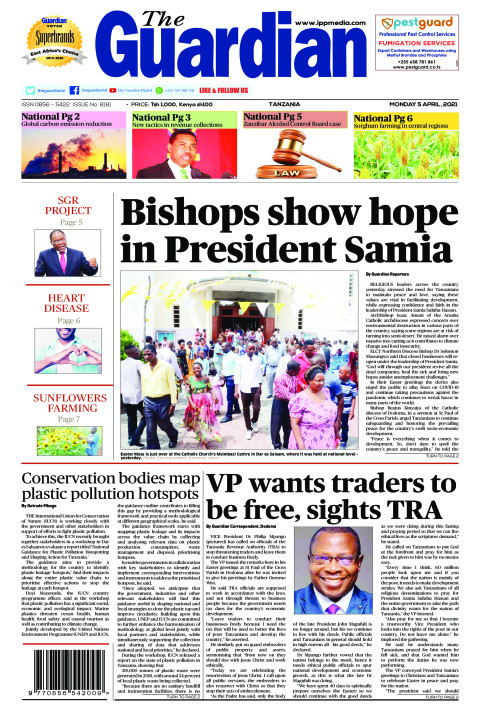 Bishops show hope in President Samia | The Guardian