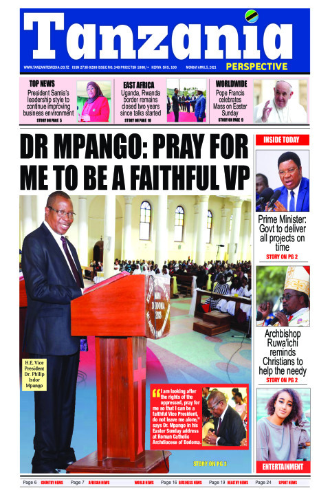 Dr Mpango: Pray for me to be a faithful VP | Tanzania Perspective