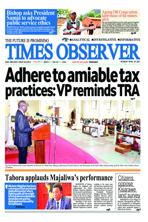 Adhere to amiable tax practices: VP reminds TRA | Times Observer