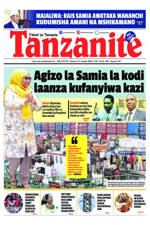 Agizo la Samia la kodi laanza kufanyiwa kazi | Tanzanite