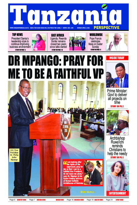 DR MPANGO: PRAY FOR