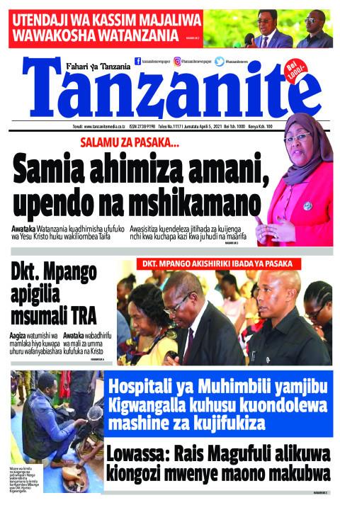 Samia ahimiza amani, upendo na mshikamano | Tanzanite