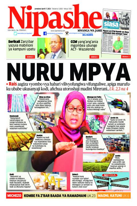 NURU MPYA | Nipashe
