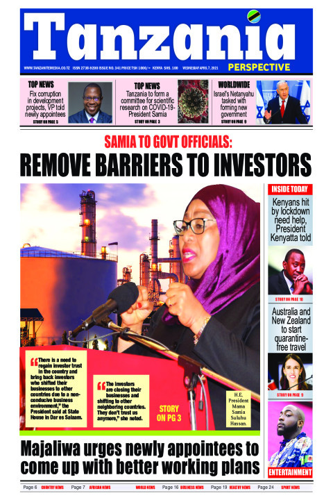 President Samia: Remove barriers to investors | Tanzania Perspective