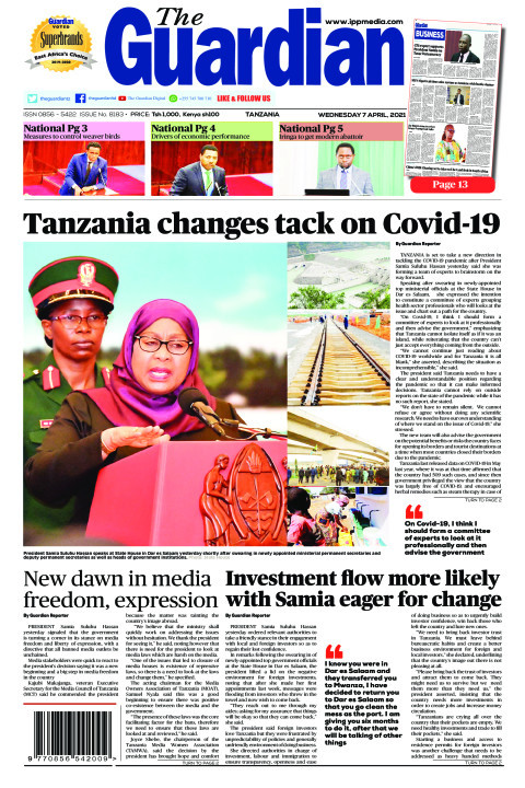 Tanzania changes tack on Covid-19 | The Guardian