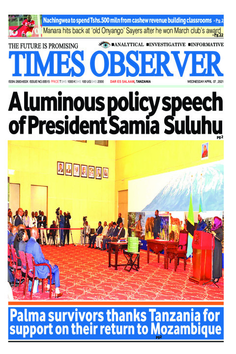 A luminous policy speech