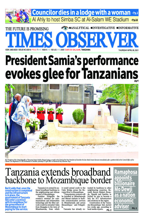 President Samia's performance evokes glee for Tanzanians | Times Observer