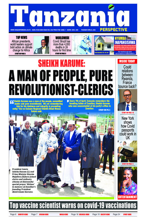 Sheikh Karume: A man of people, pure revolutionist-Clerics | Tanzania Perspective
