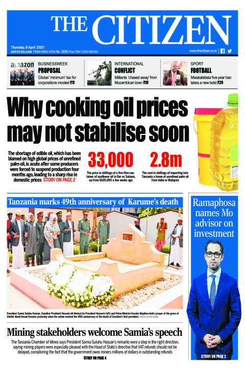 WHY COOKING OIL PRICES MAY NOT STABILISE SOON | The Citizen