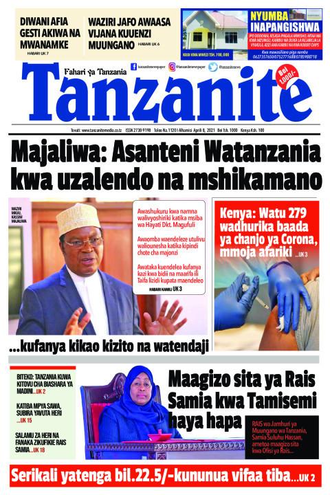 Majaliwa: Asanteni Watanzania kwa uzalendo na mshikamano | Tanzanite