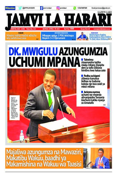 Dk. Mwigulu azungumzia uchumi mpana | Jamvi La Habari