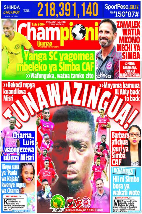 TUNAWAZINGUA! | Championi Ijumaa