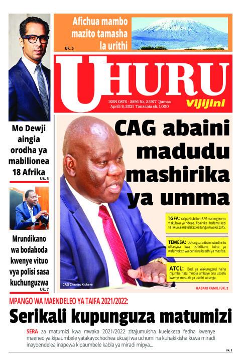 CAG abaini madudu mashirika ya umma | Uhuru