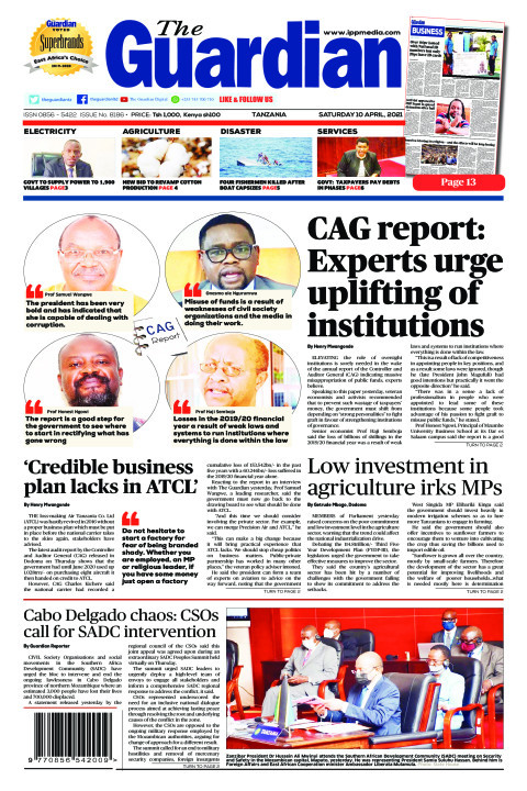 CAG report: Experts urge uplifting of institutions | The Guardian