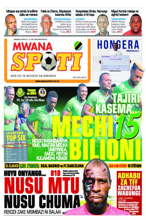 TAJIRI KASEMA MECHI 15 BILIONI,HUYU ONYANGO..NUSU MTU NUSU C | Mwanaspoti