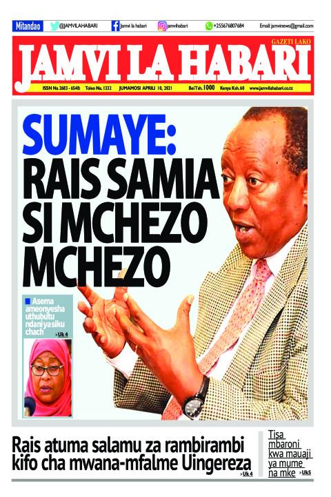 Sumaye: Rais Samia si mchezo mchezo | Jamvi La Habari