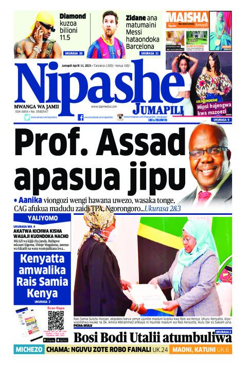 Prof. Assad apasua jipu | Nipashe