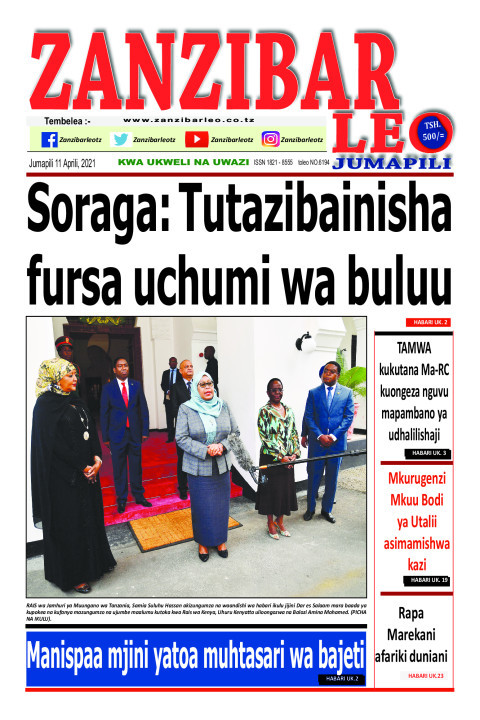 Soraga: Tutazibainisha fursa uchumi wa buluu | ZANZIBAR LEO