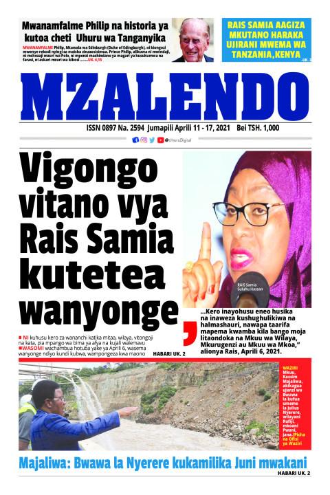 Vigongo vitano vya Rais Samia kutetea wanyonge | Mzalendo