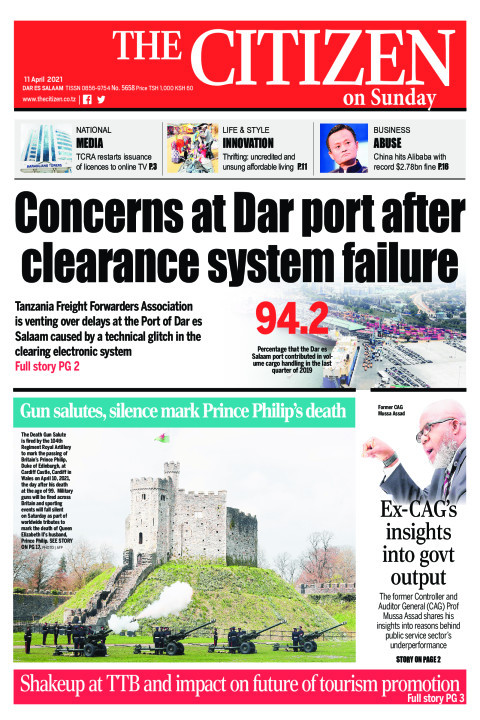 CONCERNS AT DAR PORT AFTER CLEARANCE SYSTEM FAILURE