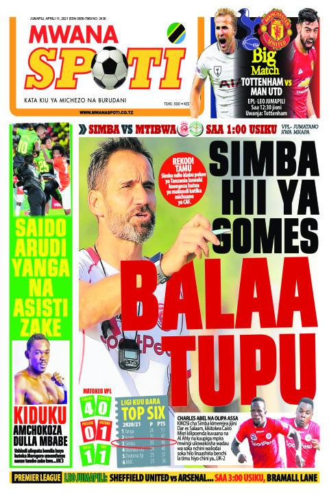 SIMBA HII YA GOMES BALAA TUPU  | Mwanaspoti