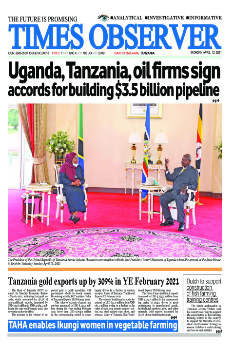 Uganda, Tanzania, oil firms sign accords for building $3.5 b | Times Observer