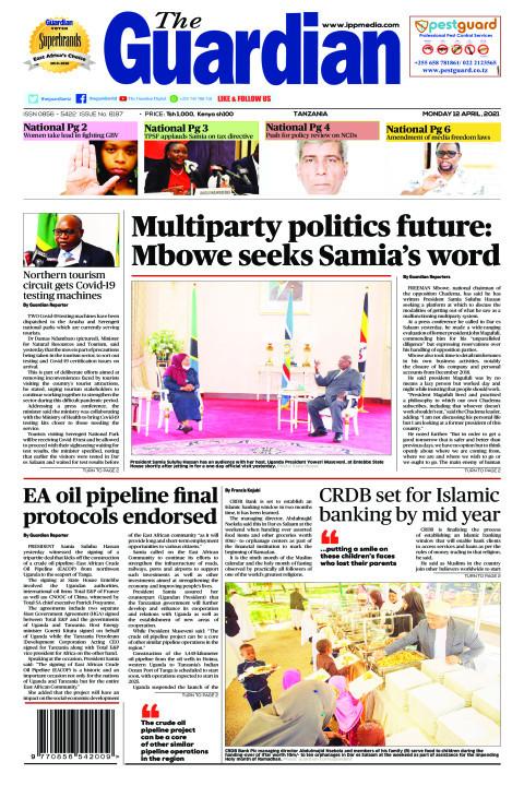 Multiparty politics future: Mbowe seeks Samia's word   The Guardian