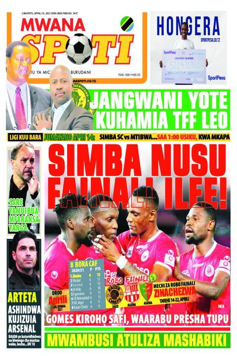SIMBA NUSU FAINALI ILEE!!!  | Mwanaspoti