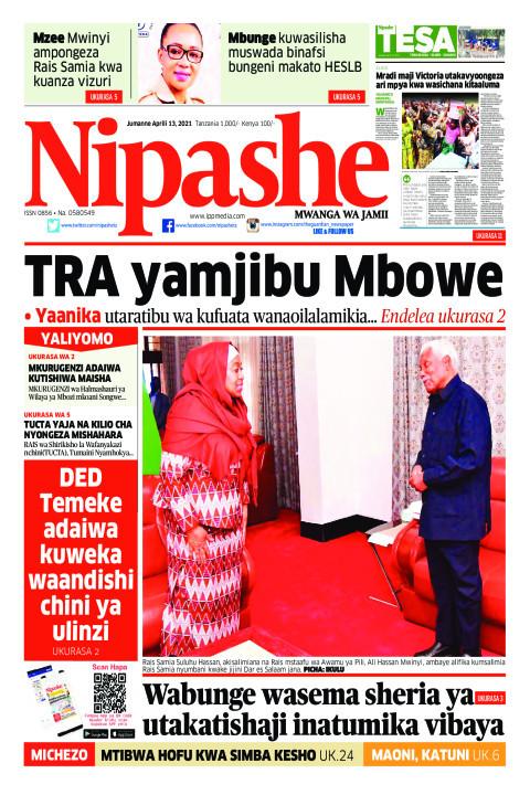 TRA yamjibu Mbowe | Nipashe