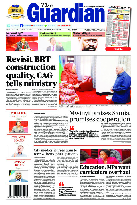 Revisit BRT construction quality, CAG tells ministry   The Guardian