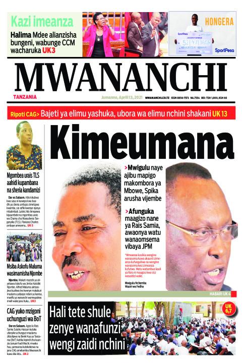 KIMEUMANA | Mwananchi