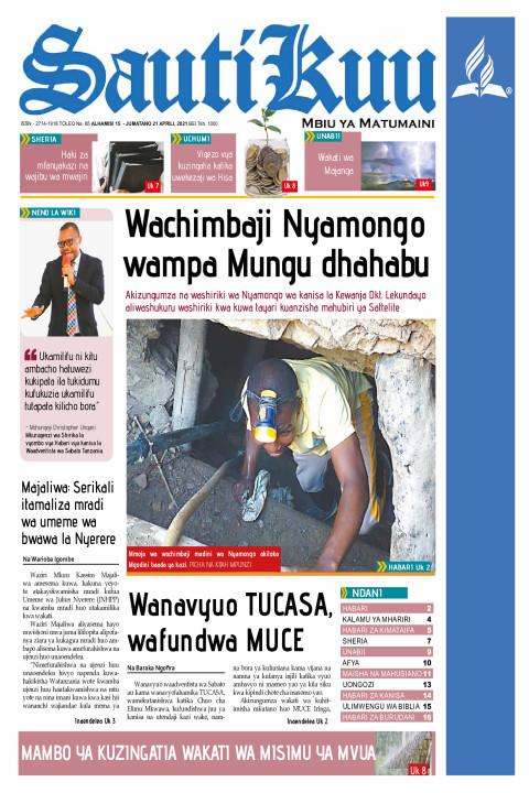 Wachimbaji Nyamongo wampa Mungu dhahabu | Sauti Kuu Newspaper