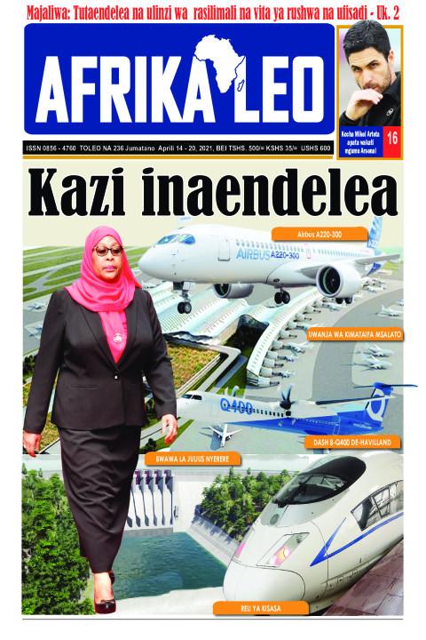 Kazi inaendelea | AFRIKA LEO