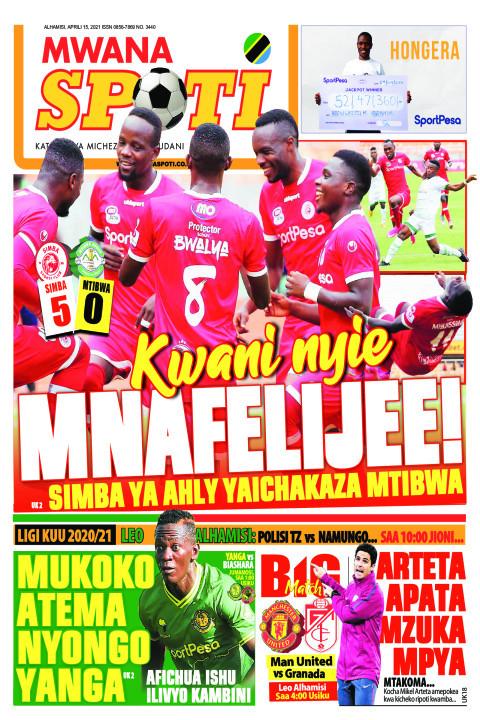 KWANI NYIE MNAFELIJEE! MUKOKO ATEMA NYONGO YANGA  | Mwanaspoti