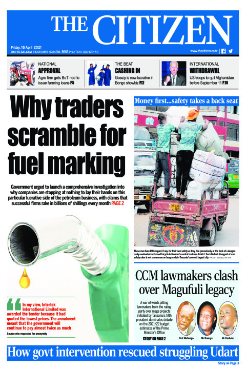 WHY TRADERS SCRAMBLE FOR FUEL MARKING  | The Citizen