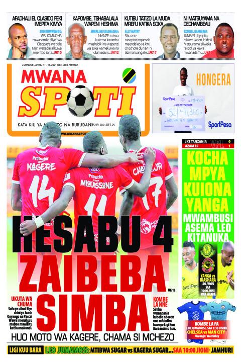 HESABU 4 ZAIBEBA SIMBA  | Mwanaspoti