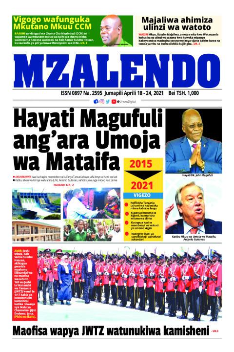 Hayati Magufuli ag'ara Umoja wa Mataifa | Mzalendo